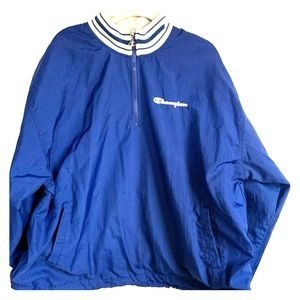 Vintage Champion windbreaker jacket xxl